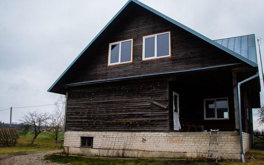 Alytaus raj., Jurgiškių kaimas – namas su mansarda (213 kv. m.)