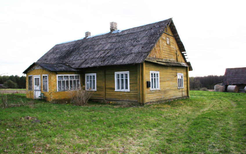 Alytaus raj., Arčiūnų k. – sodyba (119 kv. m./41 a.)