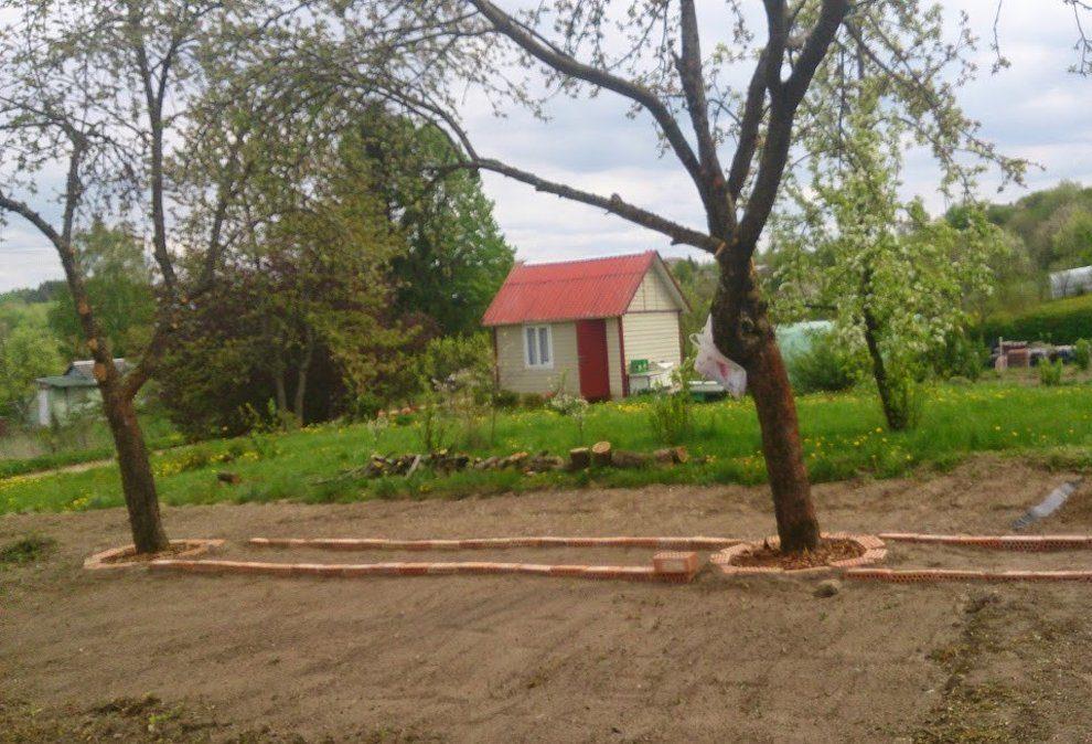 """Alytaus raj., Bazorų k., Pakrantės g. – SB """"Dobilas"""" sodo sklypas (5,4 a.)"""